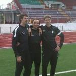 Il trio delle meraviglie (con Stefano e Jacopo).