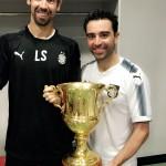 Xavi e la Supercoppa.